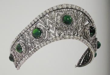 Bolin diadem of Countess Elizabeth Romanov (Wedding gift)
