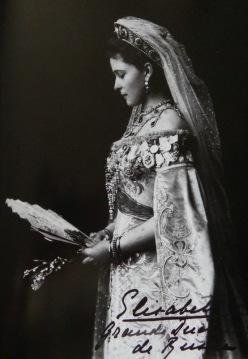 Empress Maria wearing a Bolin tiara