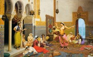 'The Harem Dance', Giulio Rosati