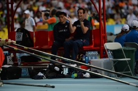 Rennaud Lavillenie (France) during Moscow 2013 IAAF World Championship