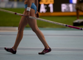 Isinbayeva Pole Vault Moscow 2013 IAAF World Championship