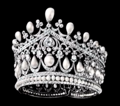 empress alexandra russia bolin tiara pearls diamonds