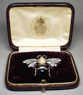 Bolin moth brooch