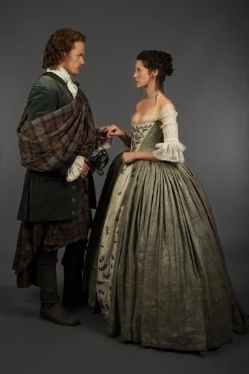 Outlander Jamie Claire Wedding