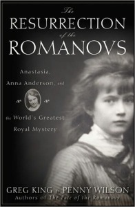 Resurrecting Romanovs book cover