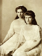 Grand Duchess Maria and Anastasia Romanovs