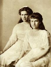 Grand Duchess Maria and Anastasia Romanovs