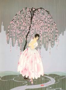 Erte Blossom Umbrella