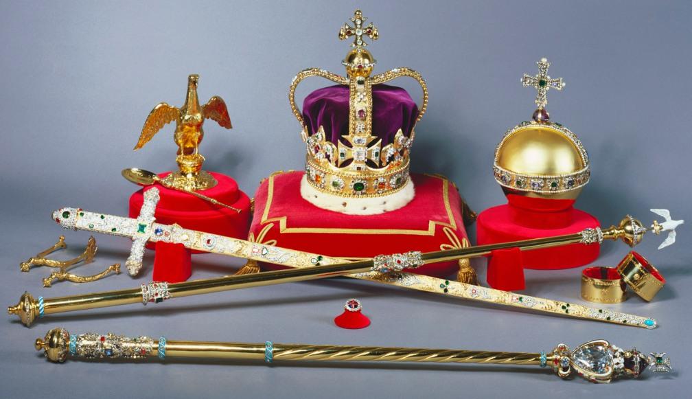 UK royal crown jewels