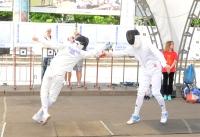 fencers - Olympicfest Chisinau by Natalia Donets