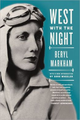 West with the Night book cover Beryl Markham